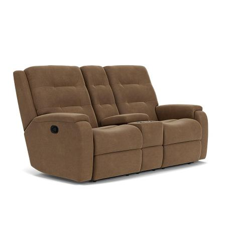 Arlo Reclining Loveseat with Console