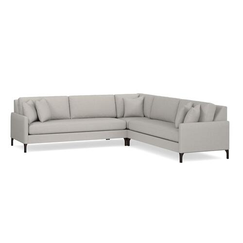 Bassett Furniture - Serafina Large L-Shaped Sectional