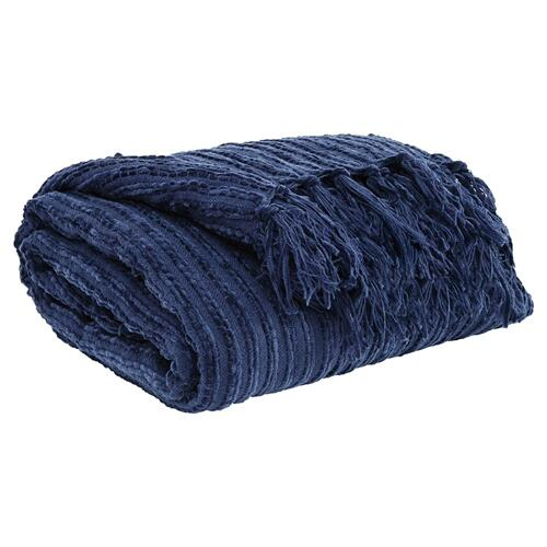 Noland Throw - Navy