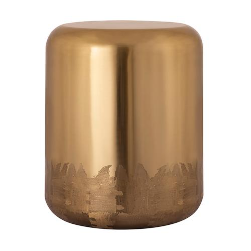 Tov Furniture - Zoe Gold Side Table/Stool