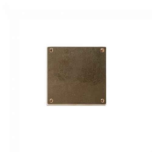 """Metro 5 1/2"""" x 5 1/2"""" - E280 Silicon Bronze Brushed"""