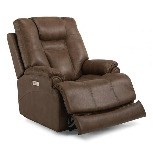 Marley Power Recliner with Power Headrest & Lumbar