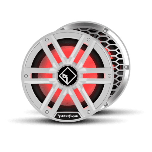 "Rockford Fosgate - M2 10"" DVC 4 Color Optix™ Infinite Baffle Marine Subwoofer"