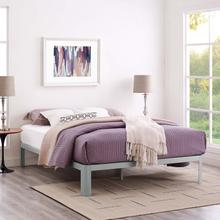 View Product - Corinne Queen Bed Frame in Gray