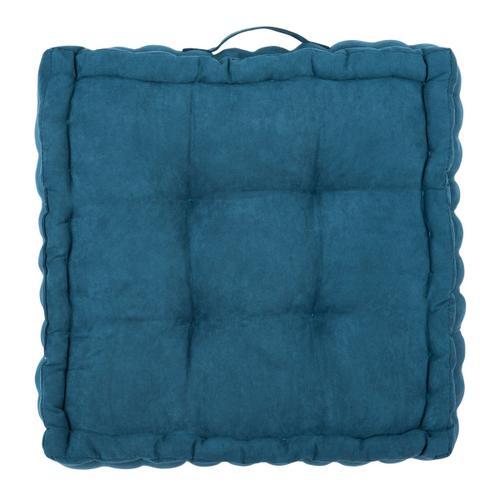 Gardenia Floor Pillow - Dark Turquoise