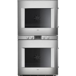 Gaggenau400 Series Double Oven 30'' Stainless Steel Behind Glass, Door Hinge: Left, Door Hinge: Left