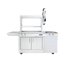 See Details - K750 Freestanding Gaucho Grill with Side Burner