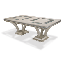 Pearl Caviar Large Rectangular Dining Table (2 pc)
