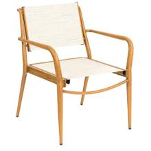 See Details - Daytona Sling Dining Armchair - Stackable