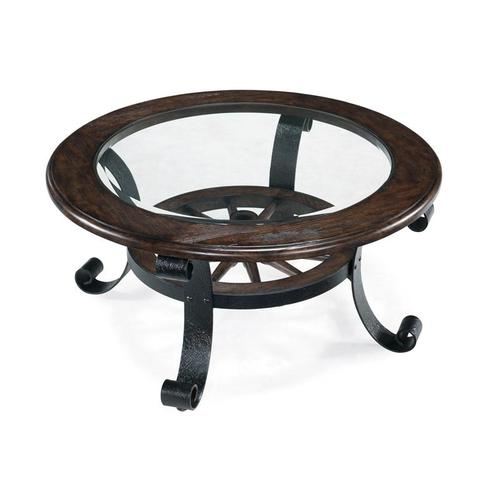 Magnussen Home - Round Cocktail Table
