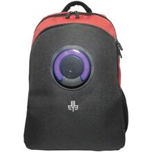 Backpack with Bluetooth® Speaker (Red)