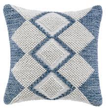 See Details - Retired Harlequin Pillow, INDIGO, 22X22
