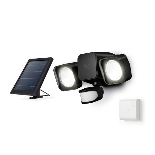 Smart Lighting Solar Floodlight + Bridge - White