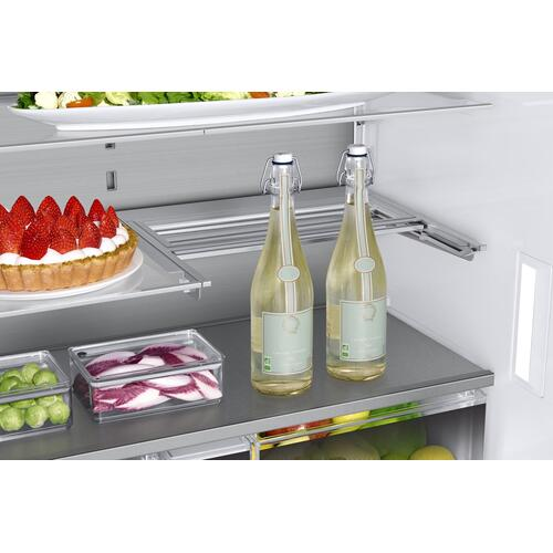 "36"" Counter Depth French Door Bottom Freezer, Graphite Stainless Steel"