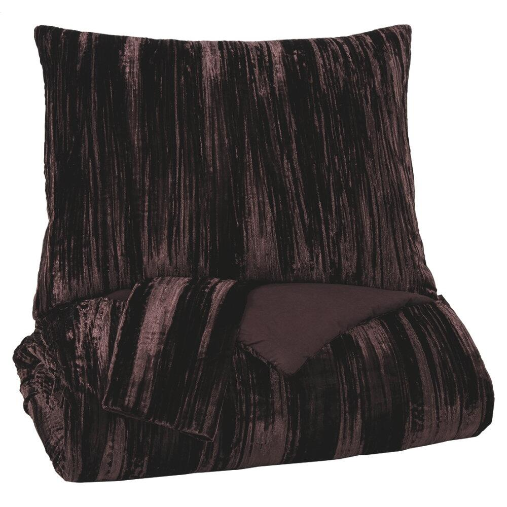 Wanete 3-piece King Comforter Set