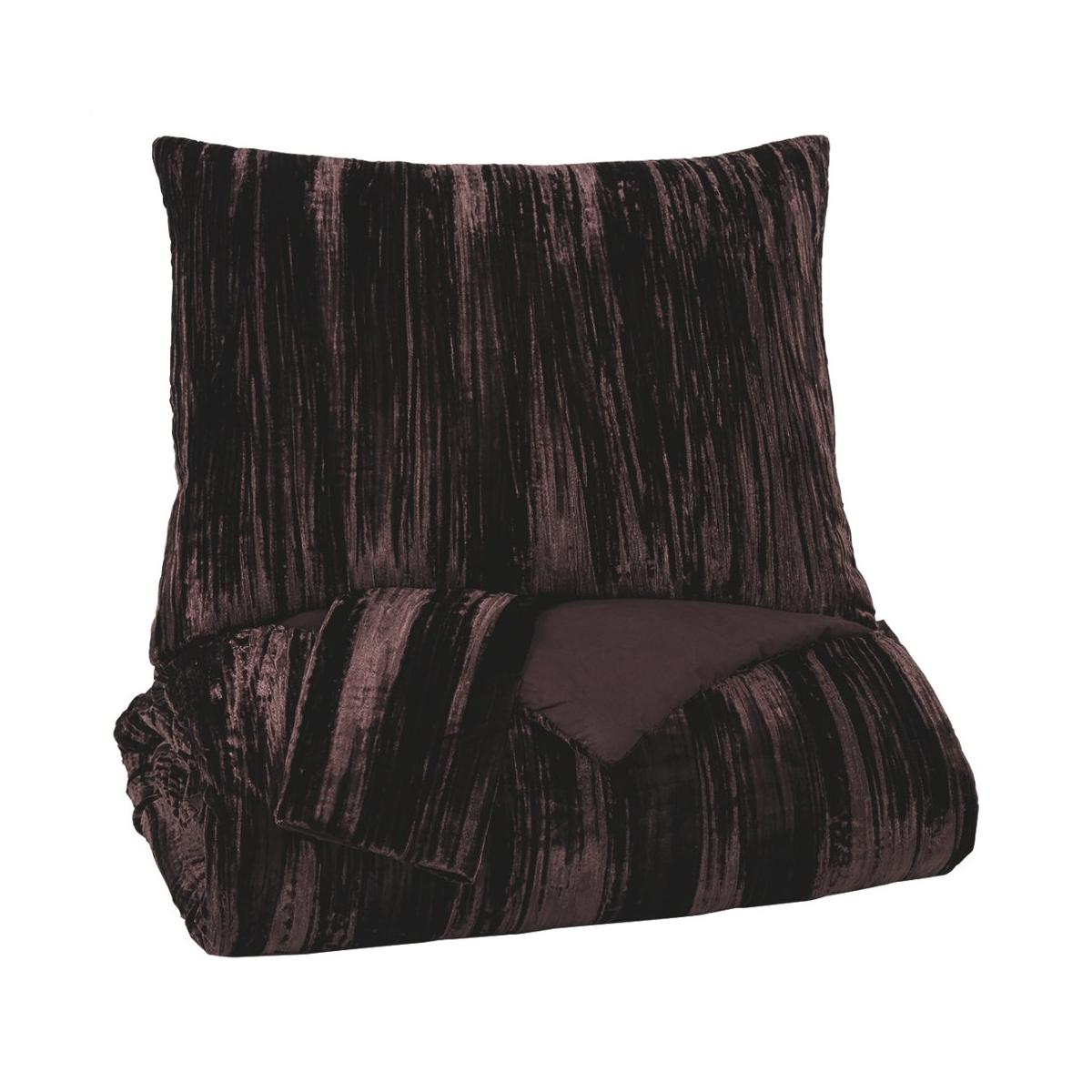 See Details - Wanete 3-piece King Comforter Set