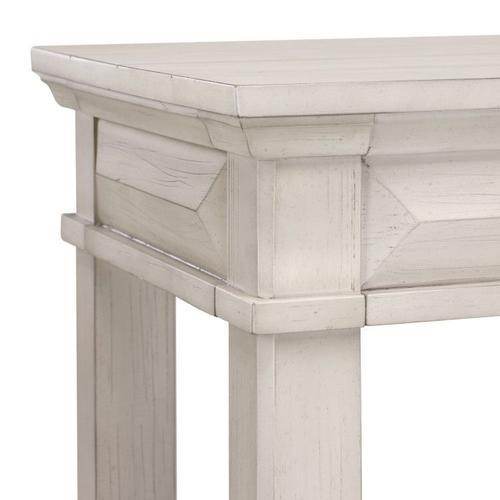 Passages Light Console Table, White