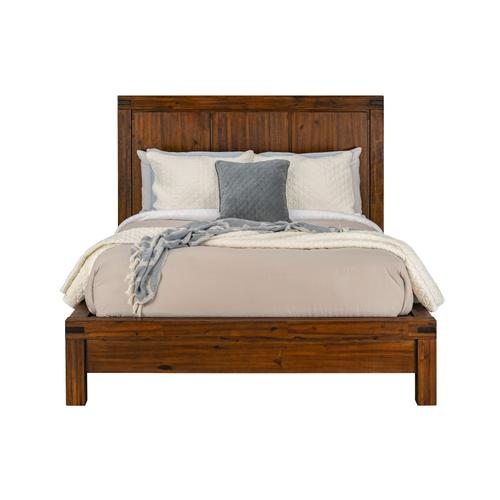 Arbor Queen Panel Bed, Brown
