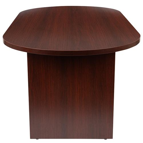 Gallery - 6 Foot (72 inch) Oval Conference Table in Mahogany