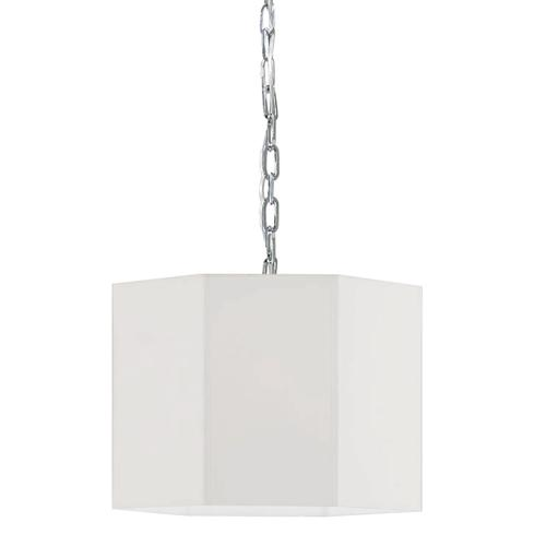 Product Image - 1lt Pendant, PC W/ Wh Shade
