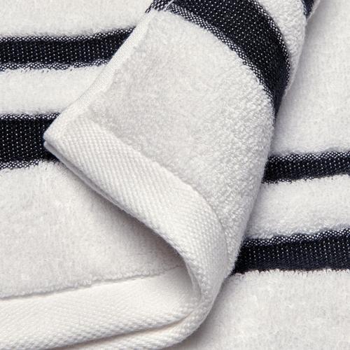 Waterworks - Fita Wash Towel in White/Black