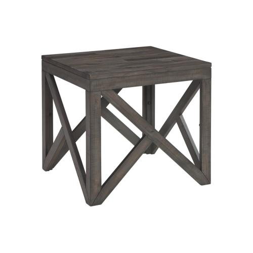 Haroflyn Square End Table Gray