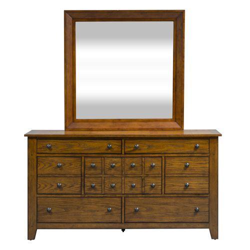 Gallery - King Sleigh Bed, Dresser & Mirror, Night Stand