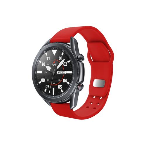 Quick Change Silicone Sport Watch Band (20mm) Red