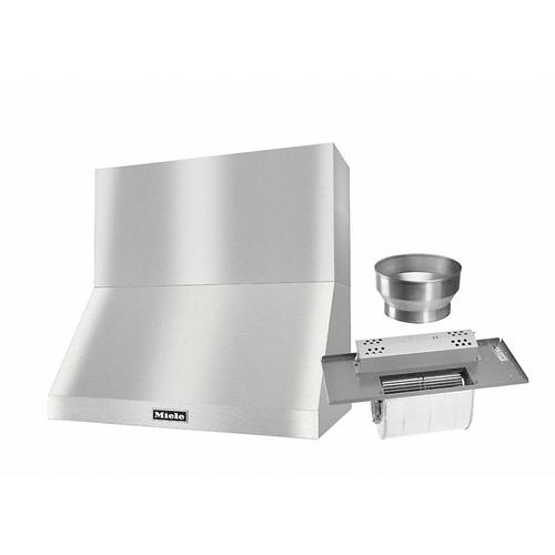 """DAR 1230 Set 8 Wall-Mounted Range Hood with Extraction Mode with integrated XL motor including 18"""" chimney cover"""