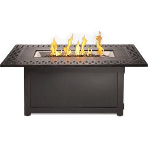 Napoleon BBQ - Kensington Rectangle Patioflame Table , Bronze , Propane