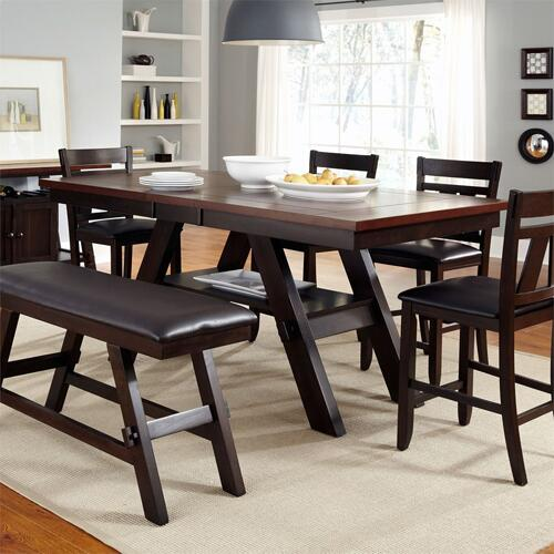 6 Piece Gathering Table Set