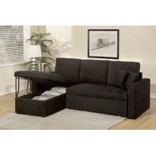 See Details - Black Sofa Sleeper