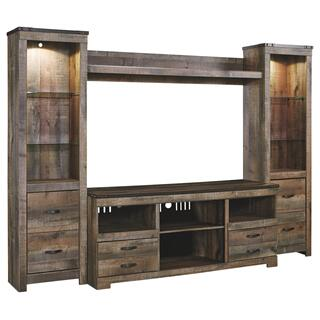 See Details - Trinell 4-piece Entertainment Center