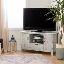 Corner TV Stand, for TVs up to 48'' - Seaside Pine