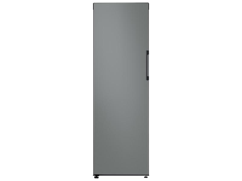 Samsung11.4 Cu. Ft. Bespoke Flex Column Refrigerator With Customizable Colors And Flexible Design In Grey Glass