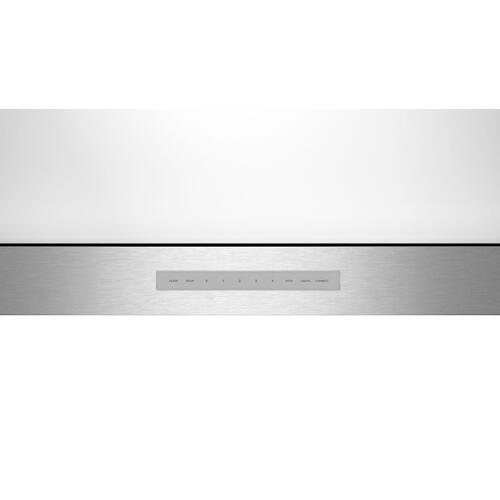 Low-Profile Wall Hood 30'' Stainless Steel HMDW30WS