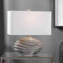 Talucah Gray Table Lamp