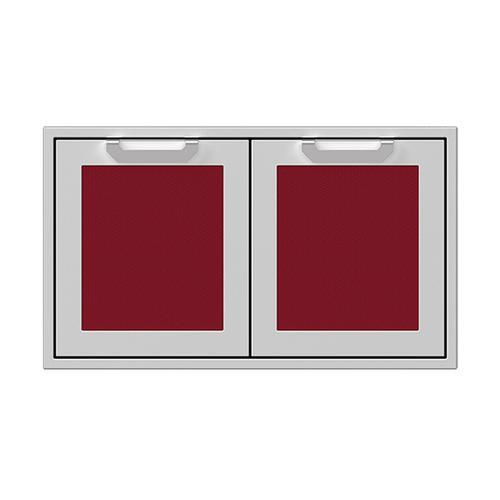 """Hestan - 36"""" Hestan Outdoor Double Storage Doors - AGSD Series - Tin-roof"""