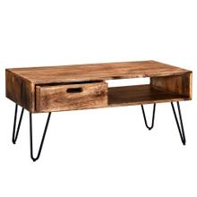 Jaydo Coffee Table in Natural Burnt