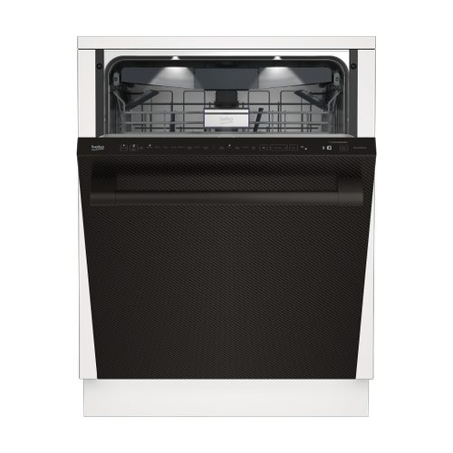 Tall Tub WiFi Connected Carbon Fiber Dishwasher, 16 place settings, 39 dBa, Top Control
