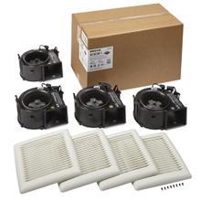FLEX Series Bathroom Ventilation Fan Finish Pack 80 CFM 1.2 Sones ENERGY STAR Certified