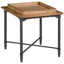 Ember Grove Tray Top Lamp Table