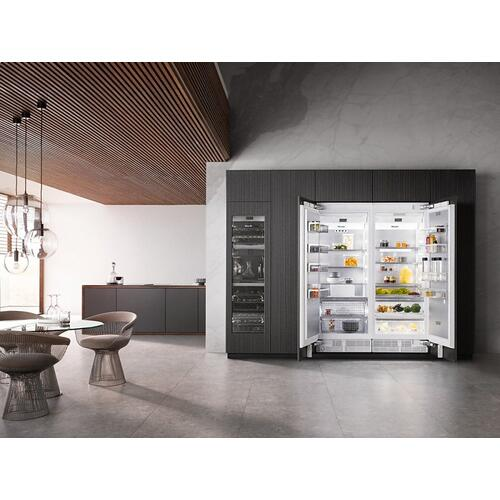 K 2801 Vi MasterCool refrigerator For high-end design and technology on a large scale.
