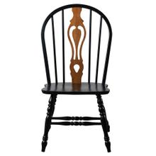 """Product Image - Keyhole Dining Chair - Antique Black (41"""")"""