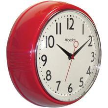 9.5-Inch Retro 1950s Kitchen Wall Clock