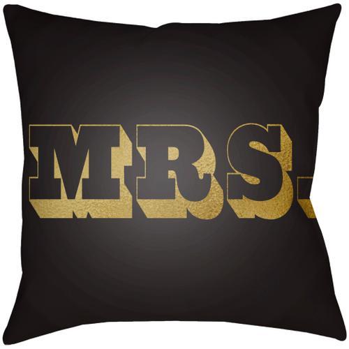 """Mr & Mrs MRSS-004 14""""H x 22""""W"""
