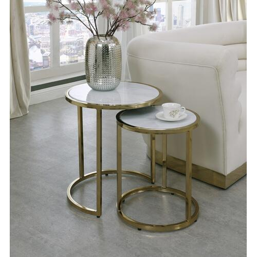 "Massimo End Table - 20"" W x 20"" D x 22"" H"