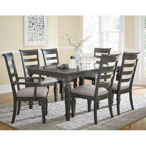Gallery - Garrison 2-Pack Upholstered Side Chairs, Burnished Grey