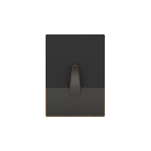 Schlage - Century Style Schlage Touch and Latitude Lever - Aged Bronze