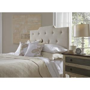 Accentrics Home - All-in-One Upholstered Queen Bed in Linen